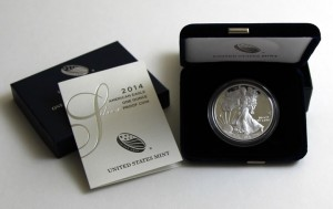 Photo of 2014 Proof American Silver Eagle