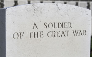 The Great War, Cemetery Monument