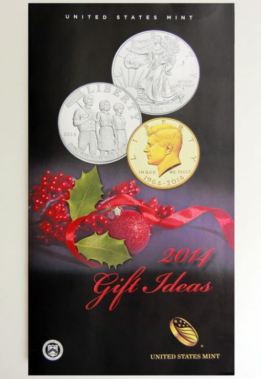US Mint 2014 Gift Ideas Catalog Cover