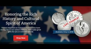 US Mint Last Chance Banner for 2014 Commemorative Coins