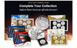 US Mint Last Chance Notice