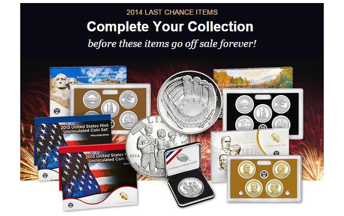 US Mint Last Chance Notice