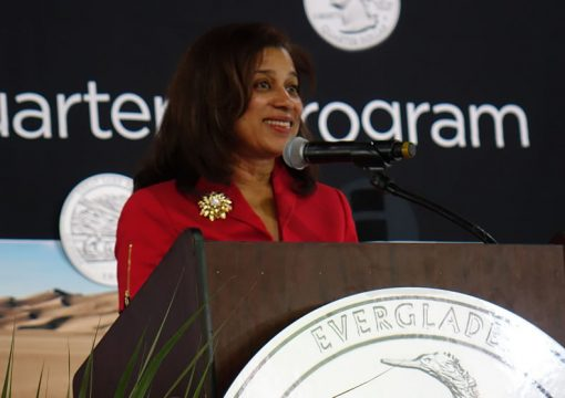United States Mint Chief Administrative Officer Beverly Ortega Babers