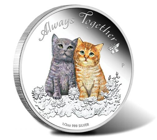 2015 Always Together Silver Proof Coin