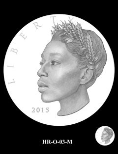 2015 High Relief Silver Medal Candidate Design, HR-O-03-M