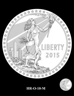 2015 High Relief Silver Medal Candidate Design, HR-O-10-M