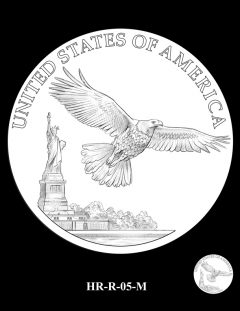 2015 High Relief Silver Medal Candidate Design, HR-R-05-M