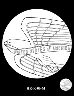 2015 High Relief Silver Medal Candidate Design, HR-R-06-M