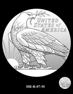 2015 High Relief Silver Medal Candidate Design, HR-R-07-M
