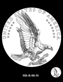 2015 High Relief Silver Medal Candidate Design, HR-R-08-M