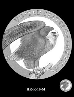 2015 High Relief Silver Medal Candidate Design, HR-R-10-M