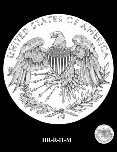 2015 High Relief Silver Medal Candidate Design, HR-R-11-M