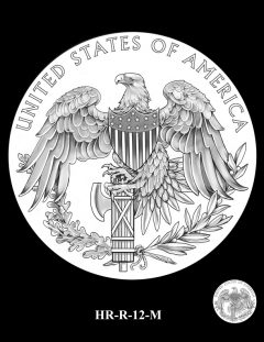 2015 High Relief Silver Medal Candidate Design, HR-R-12-M
