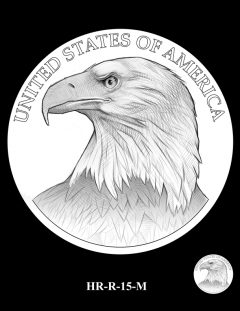 2015 High Relief Silver Medal Candidate Design, HR-R-15-M
