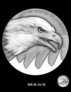 2015 High Relief Silver Medal Candidate Design, HR-R-16-M