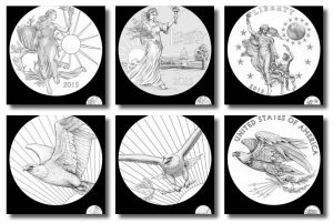 2015 High Relief Silver Medal Design Candidates