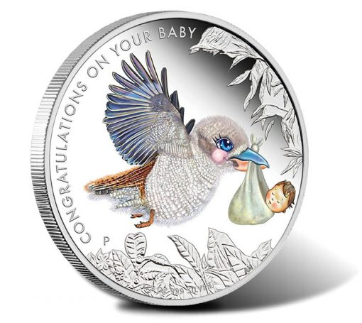 2015 Newborn Baby Silver Proof Coin