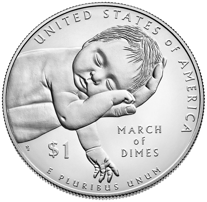 2015 March of Dimes Silver Dollar Images Revealed | Coin News