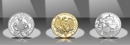 2015 Proof US Marshals Service 225th Anniversary Commemorative Coins - Reverses
