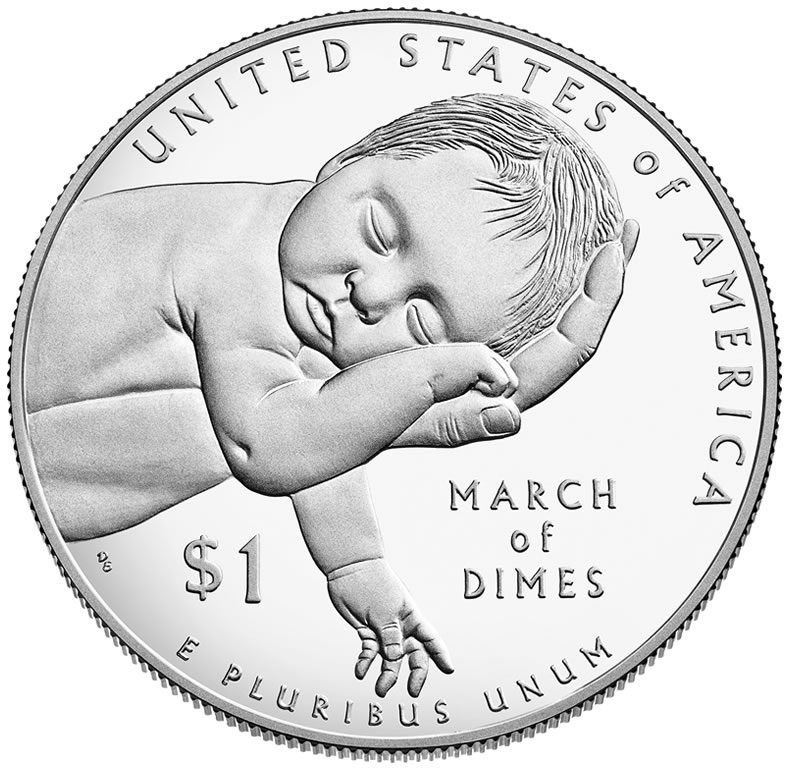 2015 March of Dimes Silver Dollars Launch | Coin News
