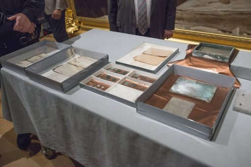 Contents of a time capsule