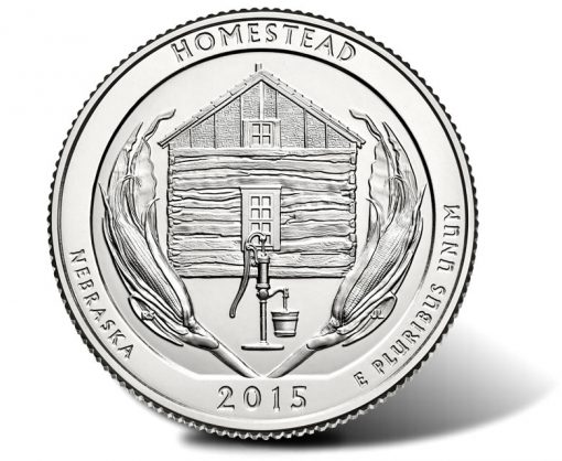 Homestead National Monument of America Quarter