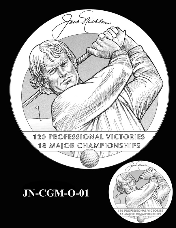 Jack Nicklaus Gold Medal Candidate Design JN-CGM-O-01