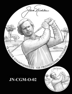 Jack Nicklaus Gold Medal Candidate Design JN-CGM-O-02