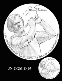 Jack Nicklaus Gold Medal Candidate Design JN-CGM-O-03