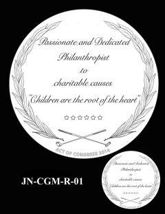 Jack Nicklaus Gold Medal Candidate Design JN-CGM-R-01