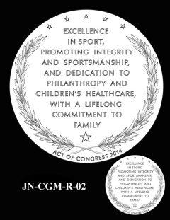 Jack Nicklaus Gold Medal Candidate Design JN-CGM-R-02