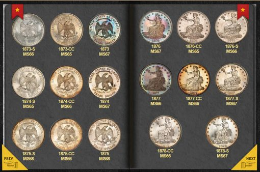 Opened PCGS Digital Coin Album