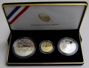 Photo of the US Marshals Service 225th Anniversary Three-Coin Proof Set
