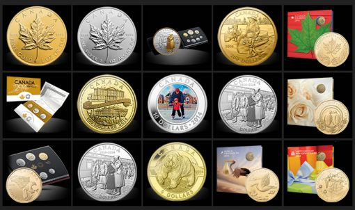 Royal Canadian Mint Last Chance Products