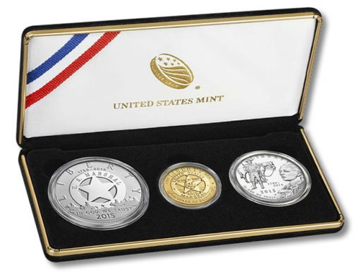 US Marshals Service 225th Anniversary Three Coin Proof Set