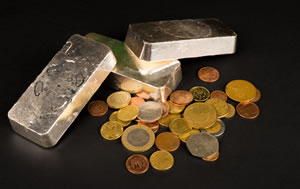 bullion silver and coins