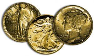 1916 silver coin designs