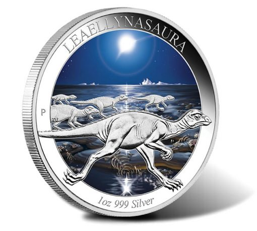 2015 $1 Leaellynasaura Silver Proof Coin
