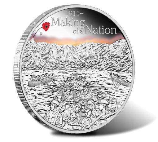2015 $1 Making of a Nation Silver Proof Coin