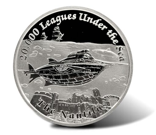 2015 $1 Nautilus 1 Oz Silver Proof Coin