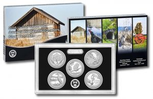 2015 Quarters Silver Proof Set Sales Open at 46,681