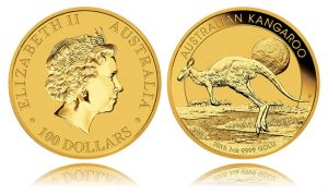 2015 Australian Kangaroo 1oz Gold Bullion Coin