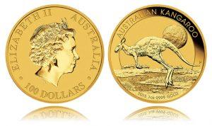 2015 Australian Kangaroo 1oz Gold Bullion Coin