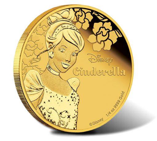 2015 Disney Princess Cinderella Gold Proof Coin