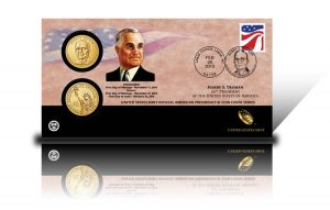 2015 Harry S. Truman $1 Coin Cover