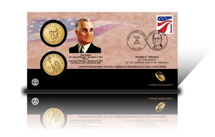 2015 Harry S. Truman $1 Coin Cover