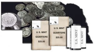 2015 Homestead National Monument of America Quarters, rolls and bags