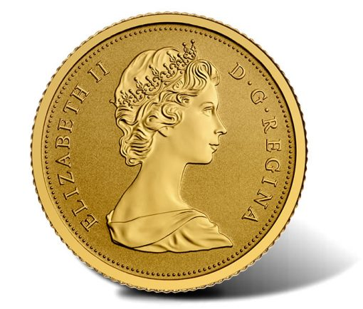 Obverse of the 2015 Maple Leaves Gold Coin