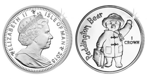 2015 Paddington Bear Commemorative Coin