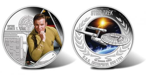 2015 Star Trek The Original Series Coins